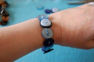 Indigo Blue: Buttons