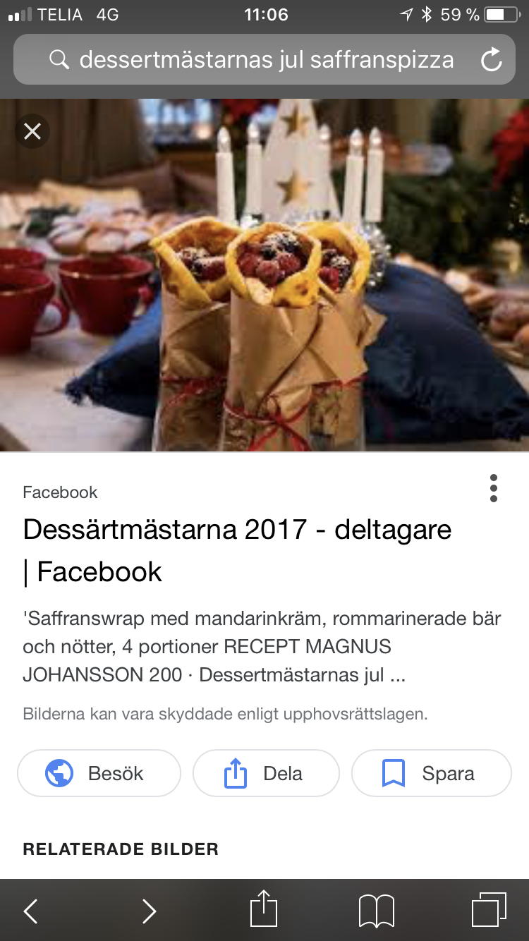 dessertmästarnas jul 2016 recept