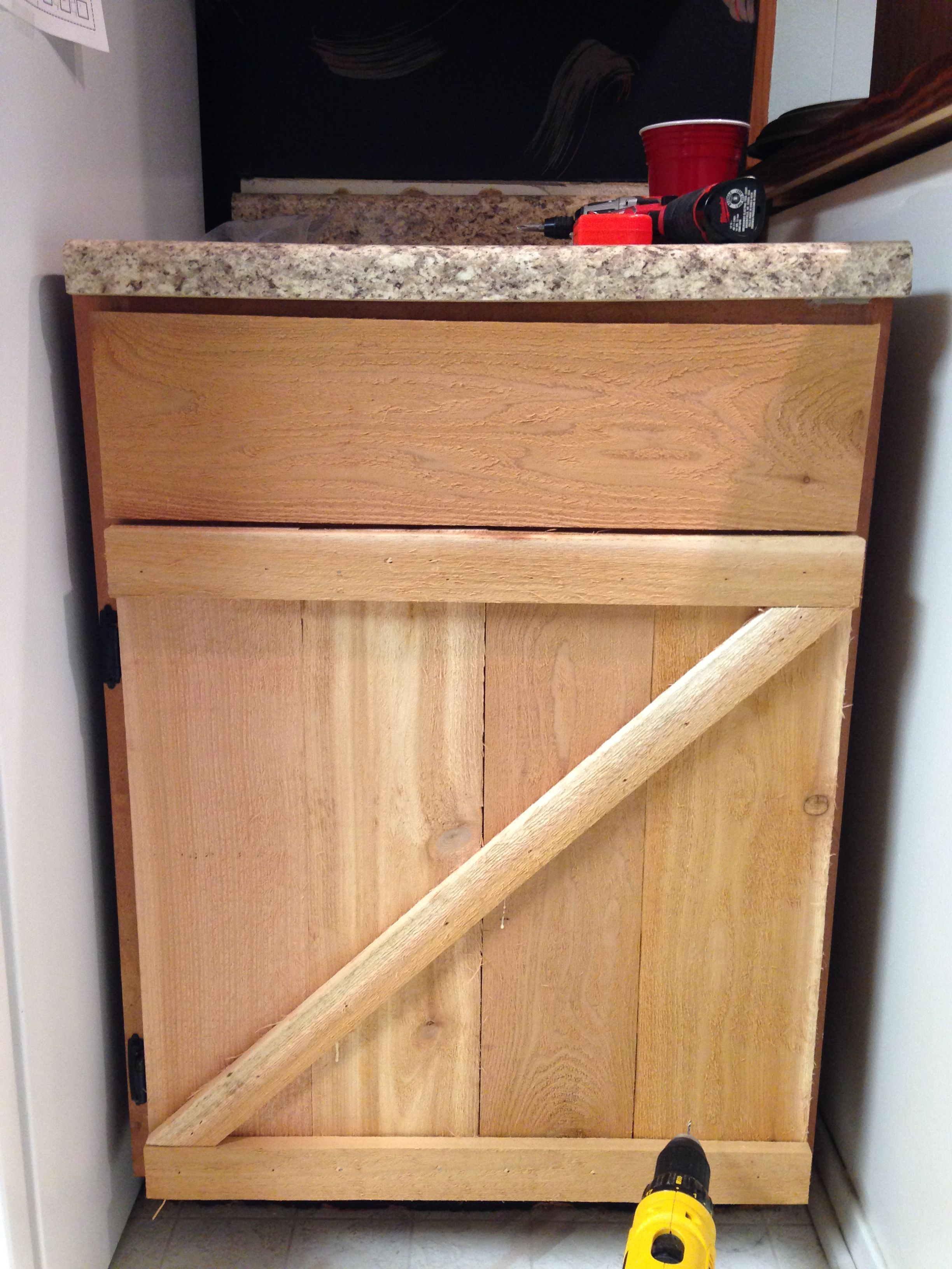 Barn Style Kitchen Cabinet Doors Made
