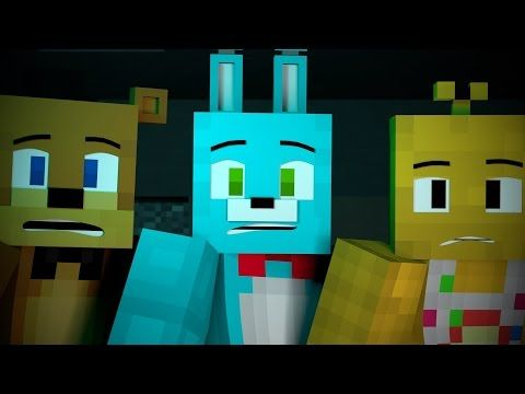 Quot Survive The Night Quot Full Minecraft Animation Youtube Fnaf Wallpapers Fnaf Fnaf Minecraft