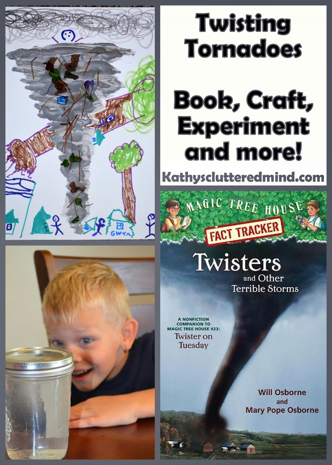Kathys Cluttered Mind Twisting Tornadoes