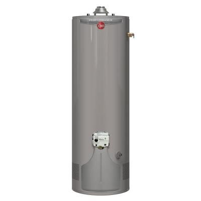 Rheem Performance 55 Gal Tall 6 Year 45 000 Btu Ultra Low Nox Natural Gas Tank Water Heater Gas Water Heater Natural Gas Water Heater Water Heater