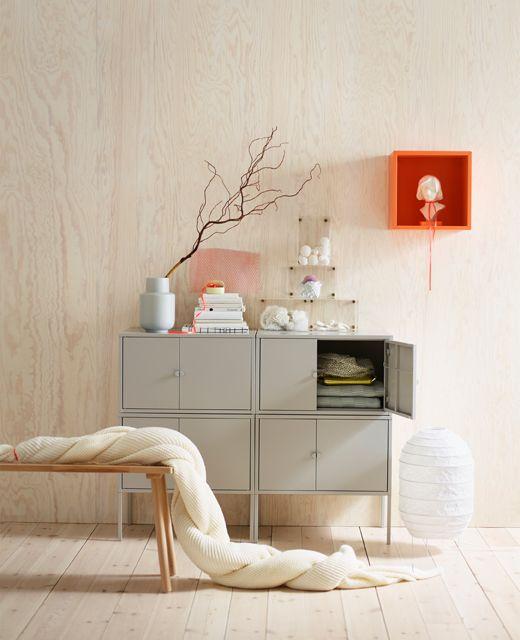 ikea lixult 34 90 meuble casier appart etudiant aix pinterest meuble casier casiers et. Black Bedroom Furniture Sets. Home Design Ideas