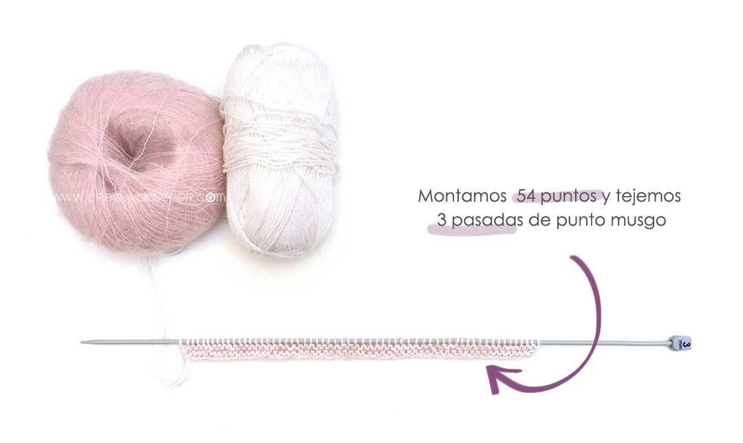 Jersey de Punto POPCORN para Bebé - [ Tutorial y patrón ] | Jersey ...