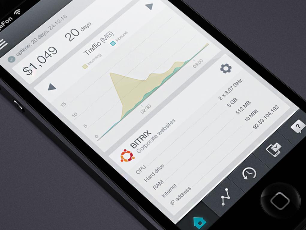 20 fantastic examples of flat ui design in apps ultralinx - App Design Ideas