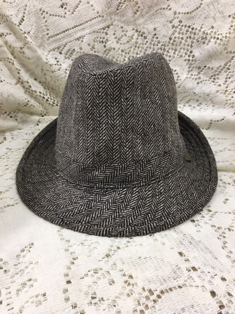 Dockers Fedora Dress Hat Mens s M Brown Cream Stripe Casual  fashion   clothing  shoes  accessories  mensaccessories  hats (ebay link) 79cc20386aa8