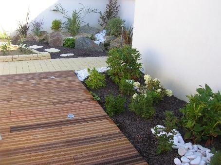 terrasse bois et aménagement champêtre Terrace Pinterest