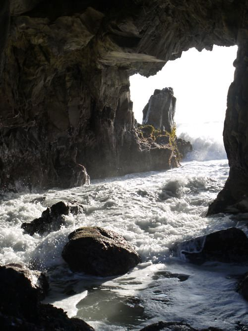 Cave deluge, awesome!