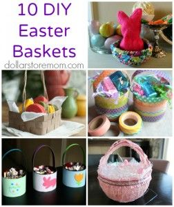 Dollar store mom 10 festive easter baskets you can make dollar dollar store mom 10 festive easter baskets you can make negle Images