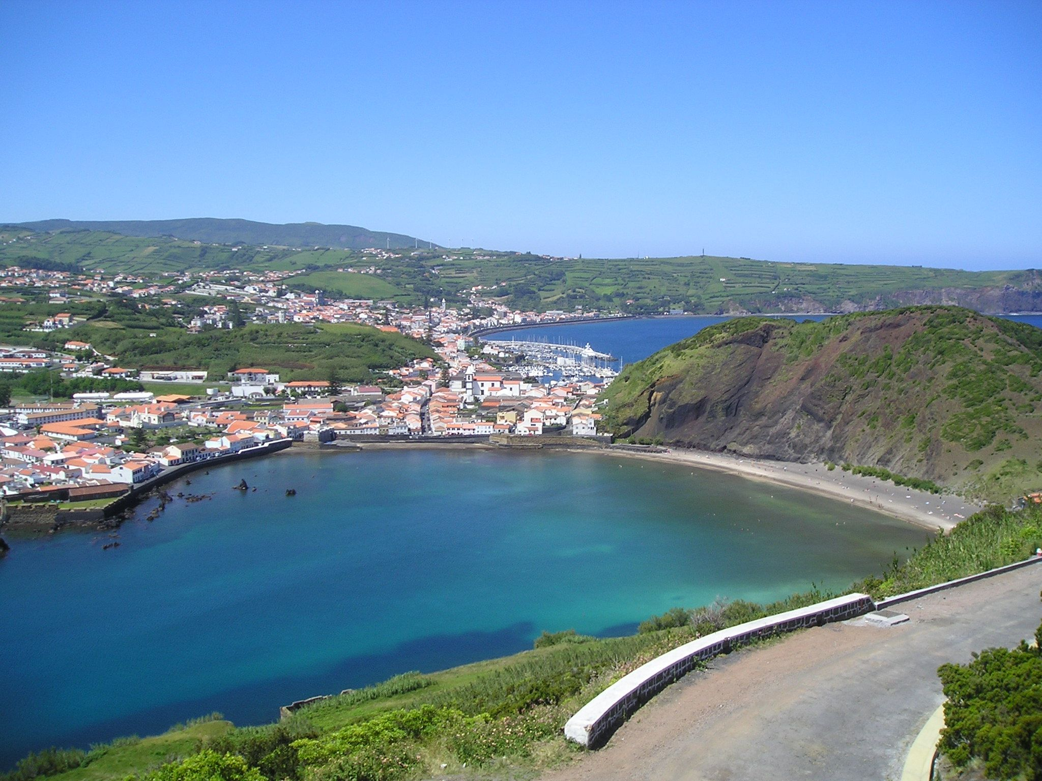 Horta - Praia Porto Pim - Açores