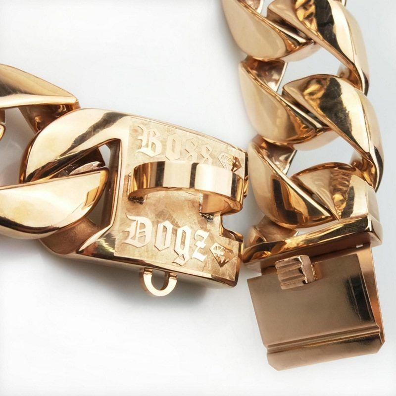 Halskette Boss Dogz Goldketten Gold Und Silber Gold