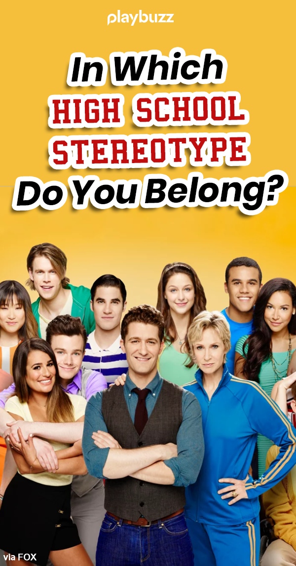 In Which High School Stereotype Do You Belong? | High school