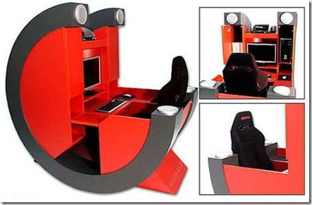 gamers table and chair i need this then to build into a box in the