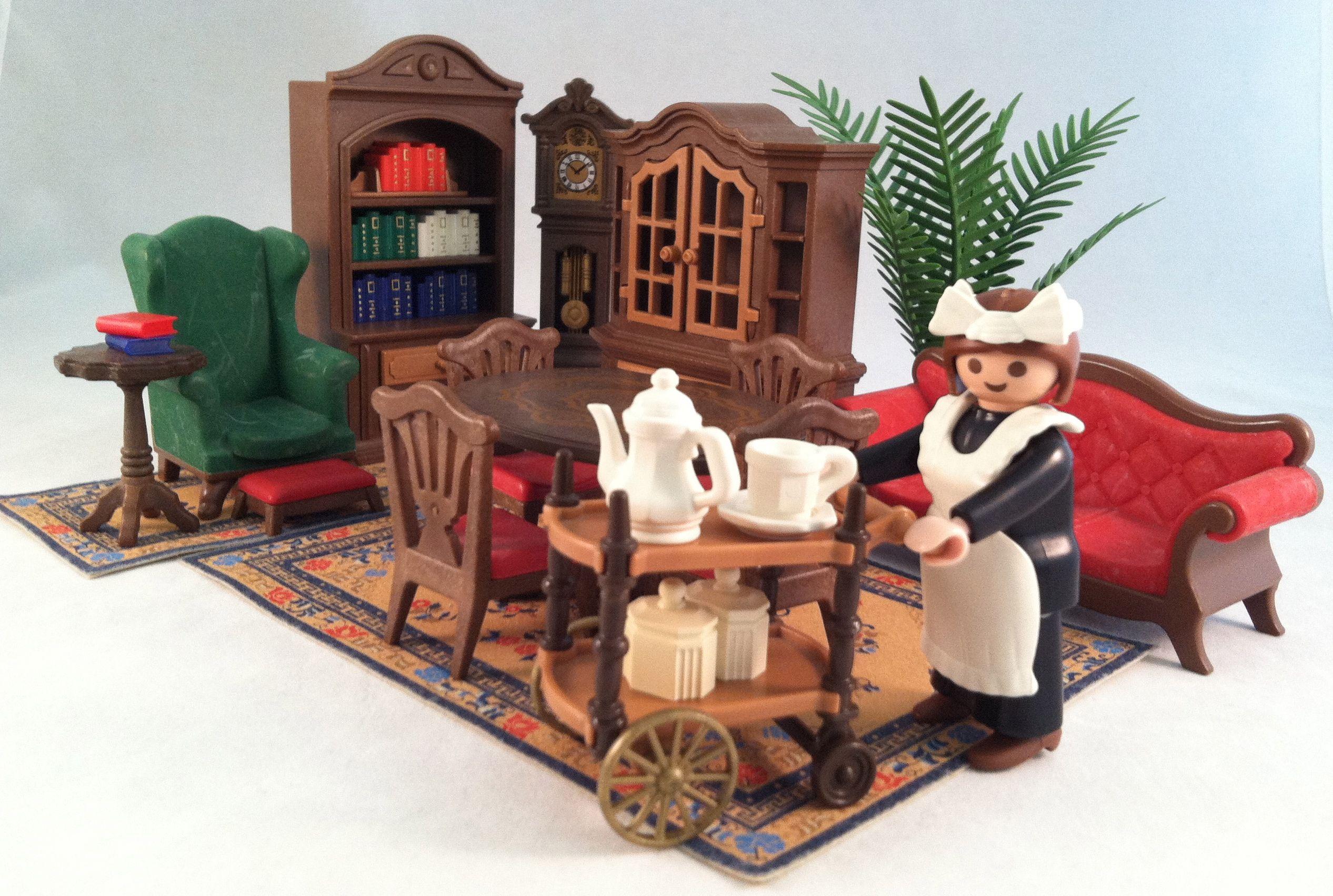 Woonkamer playmobil   Nostalgie   Pinterest   Mansion, Victorian and ...