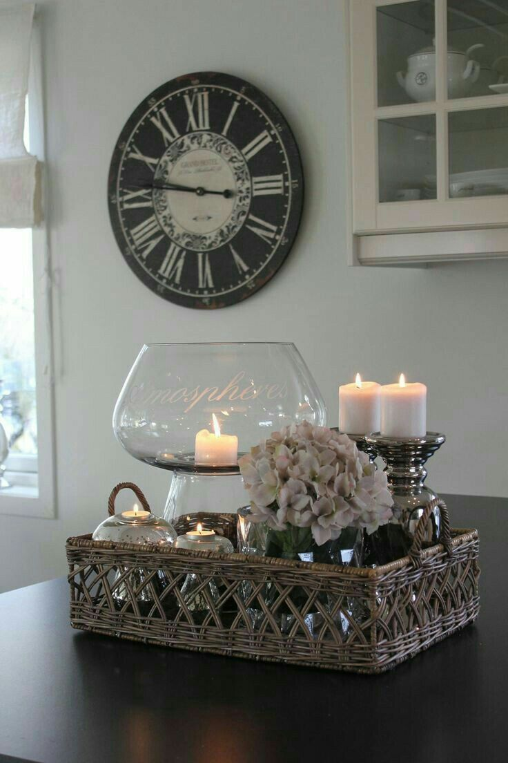 Decorative Objects Living Room: Love This As A Centerpiece Idea, Living Room Decor
