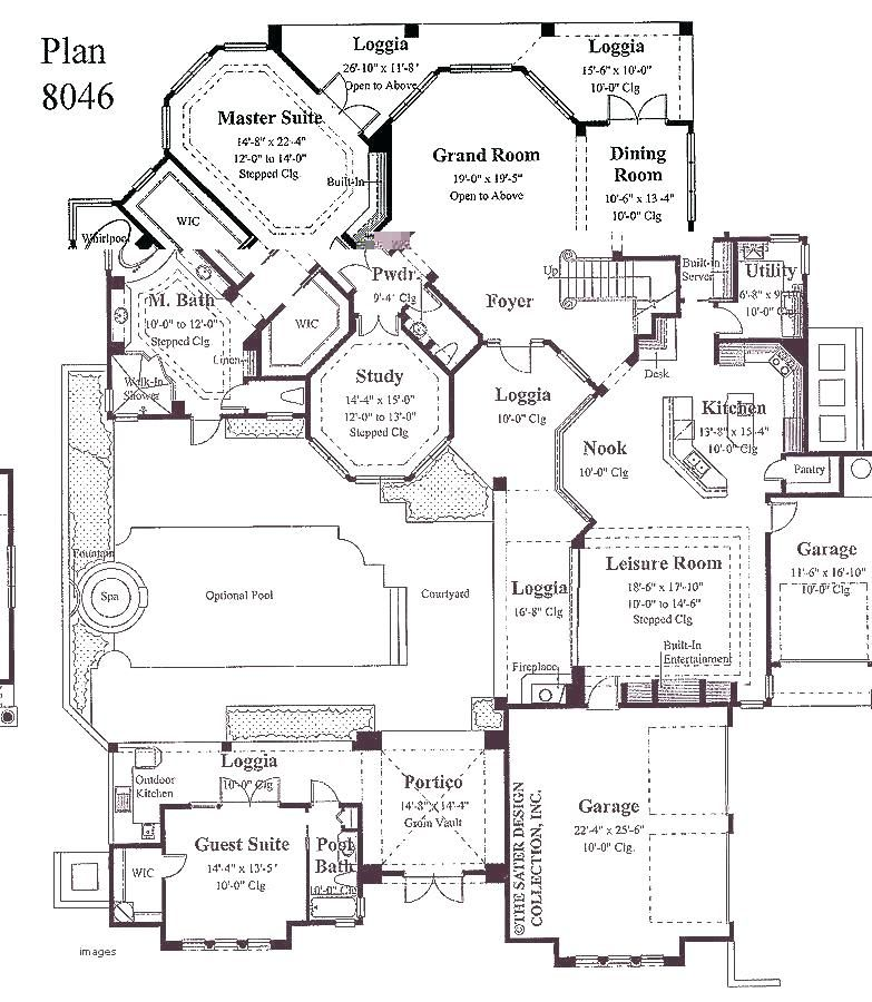 Single Level House Plans With Two Master Suites Fascinating House With 2 Master Bedrooms Interesti Single Level House Plans Tree House Plans Family House Plans