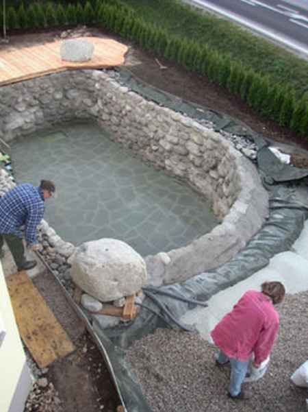 17 Diy Hot Tubs And Swimming Pools Diy Swimming Pool Natural Pool Backyard Pool