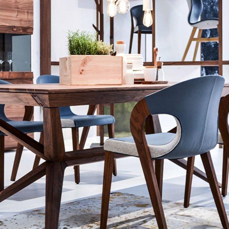 Haut De Gamme Jusqu Au Bout Cette Table Est L Expression Parfaite Des Lignes Du Design Allemand Et Du Createur Martin Ballendat In 2020 Dining Table Table Home Decor