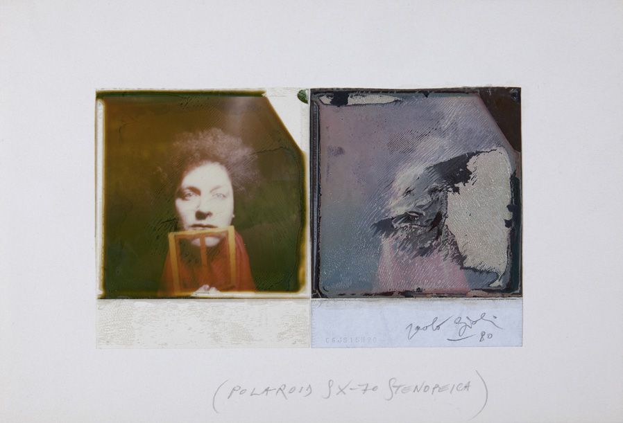 Paolo Gioli, Autoritratto, 1980
