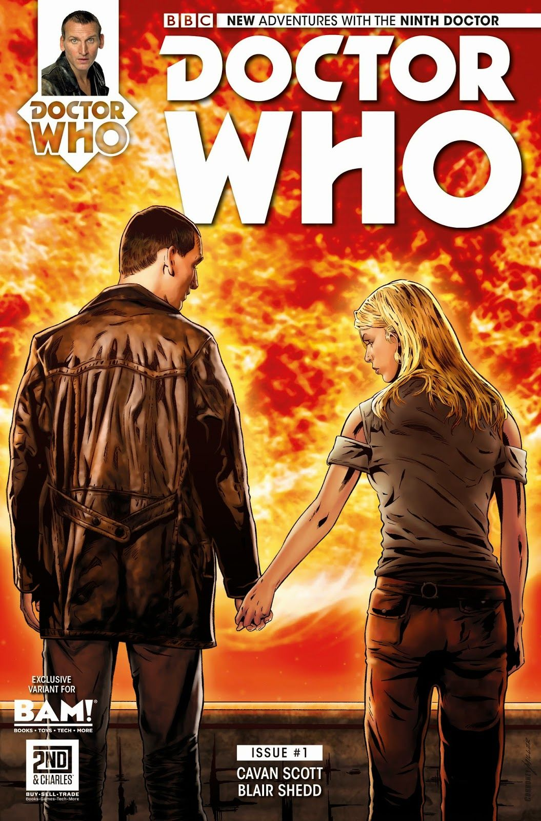 Doctor Who Comic Book Covers