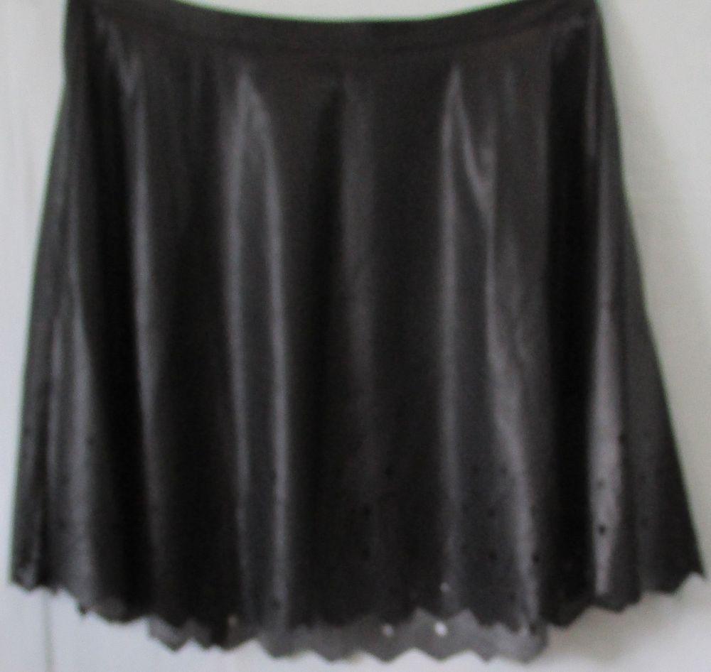Details about Forever Audrey NWT Plus Size Black A-Line Faux ...