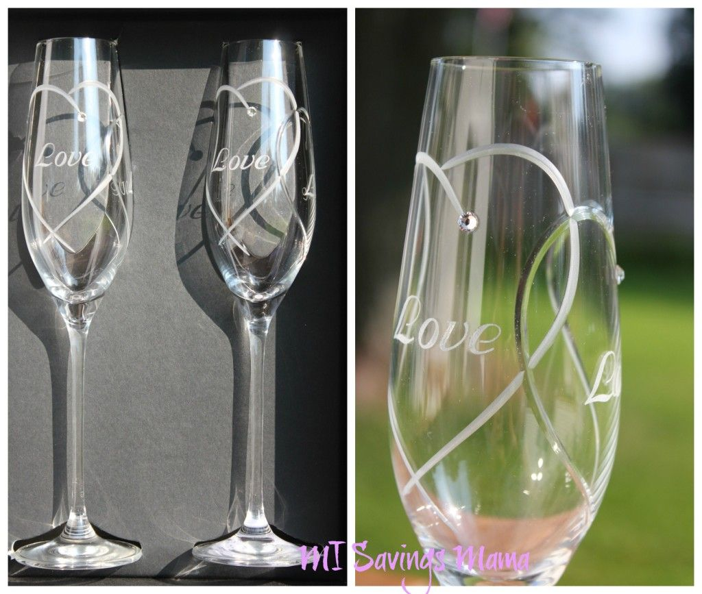 2eebfb88d67 I loved the Royal Doulton Hearts Entwined Toasting Flutes from Things  Remembered. We chose to have Love engraved instead of the typical Name and  Date - that ...