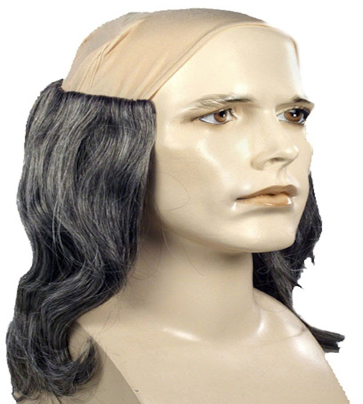 Uhhhh...no words for their choice of bust for this Shakespeare wig.