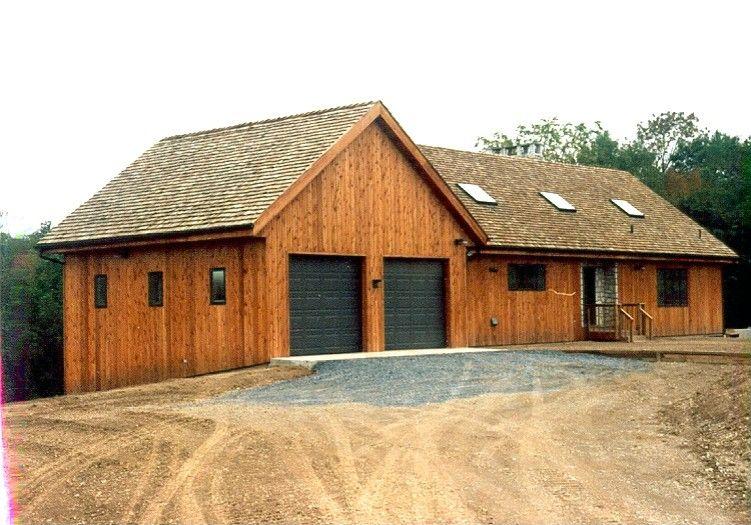 Photo gallery pennsylvania pole barns exterior design for Pole barn homes kits