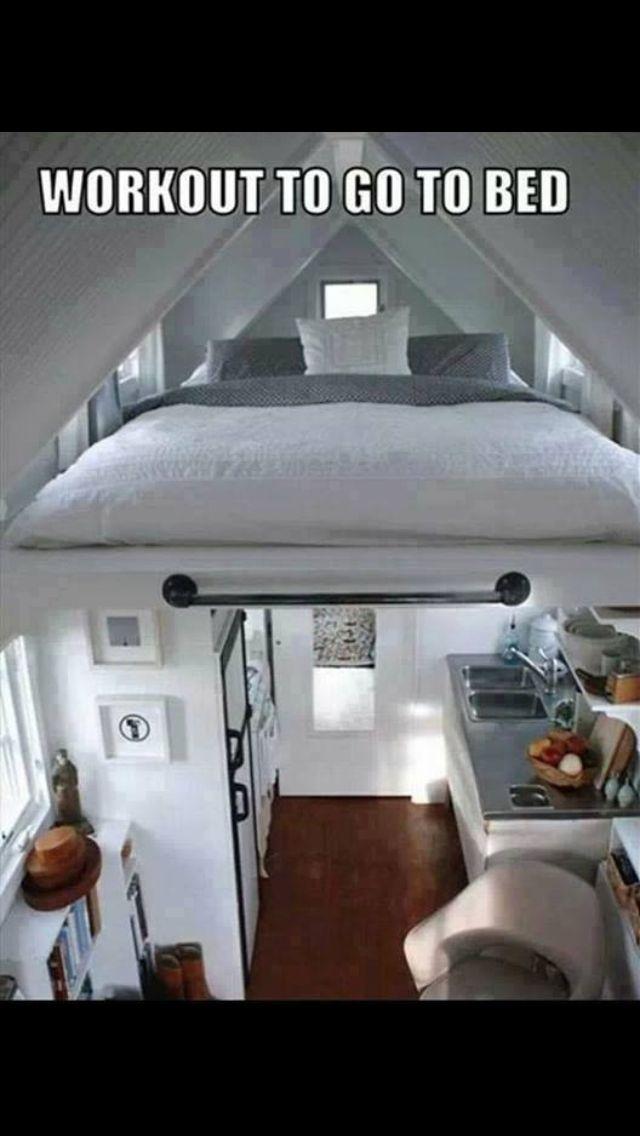 1 Zimmer mit Sport Kreative Wohnideen Pinterest Kreative - wohnideen unterm dach