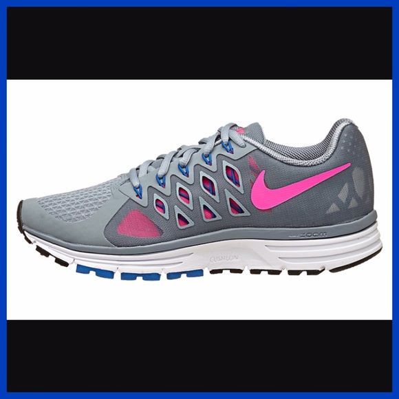 d6b170c39c4f NEW Nike Zoom Vomero 9 Pink   Grey Running Shoes 8 new! never worn ...