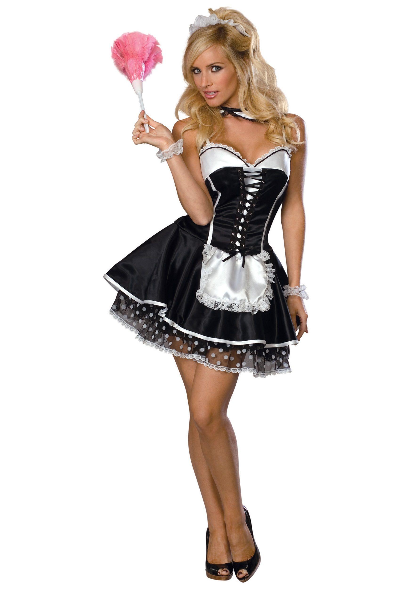 D Guisement Adulte Costume Femme Domestique Bonne Soubrette Sexy  ~ Déguisement Robin Des Bois Femme Adulte