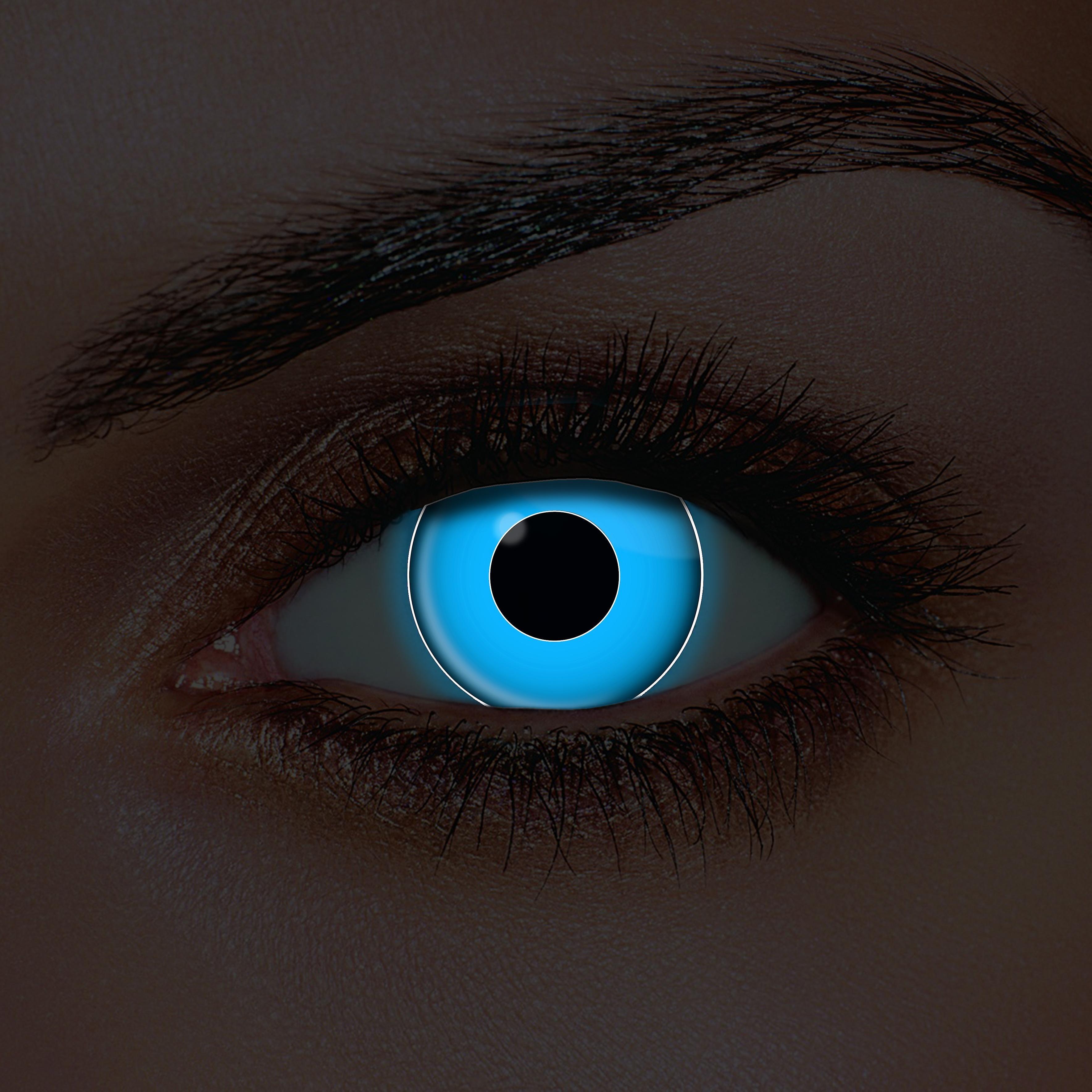 i-Glow Blue UV Contact Lenses (Pair) | Fruugo | Uv contact ...