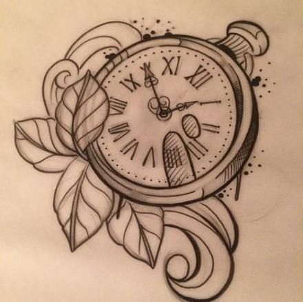 47 Ideas Tattoo Simple Compass Pocket Watches