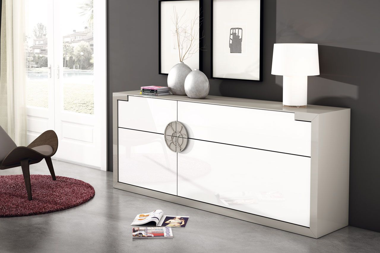 programa modular de muebles de salón y dormitorios, composiciones de ...