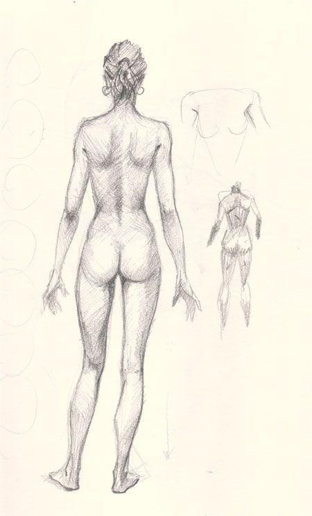 Resultado de imagem para draw woman body