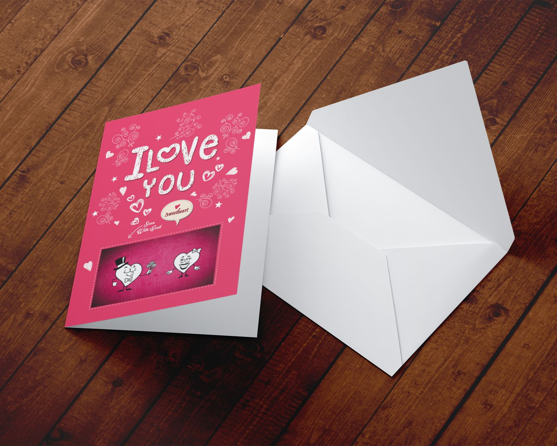 Beautiful augmented reality greeting card love song hearts beautiful augmented reality greeting card love song hearts m4hsunfo