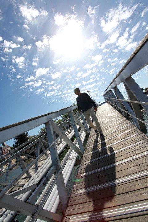 Port de Kernevel. Crédit photo : Manuel Dutrus. www.larmor-plage.com