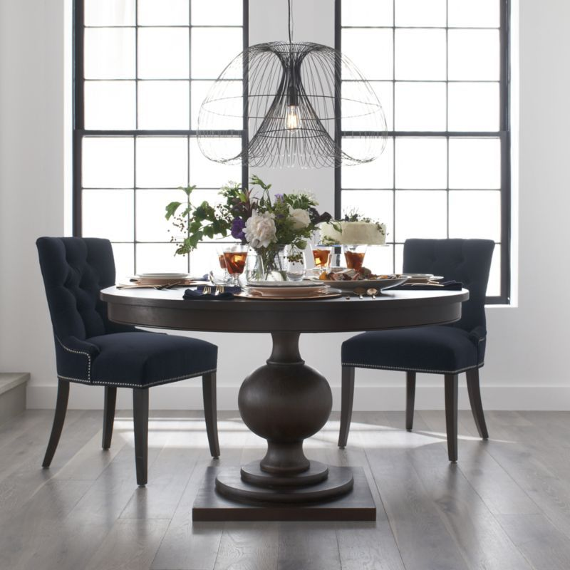 Crate And Barrel Dining Chairs Wood