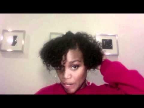 Mini Pineapples For Short Hair Youtube Pineapple Hairstyle Natural Hair Styles Short Hair Styles