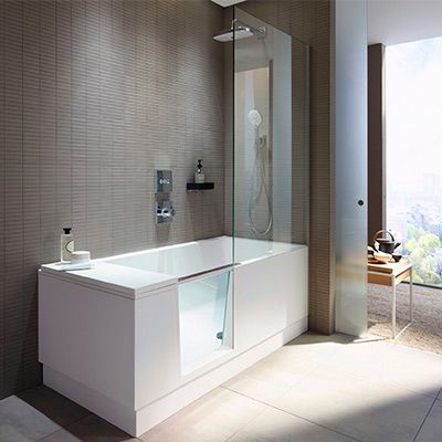 Le Combine Bain Douche Shower Bath De Duravit Est La Solution 2 En