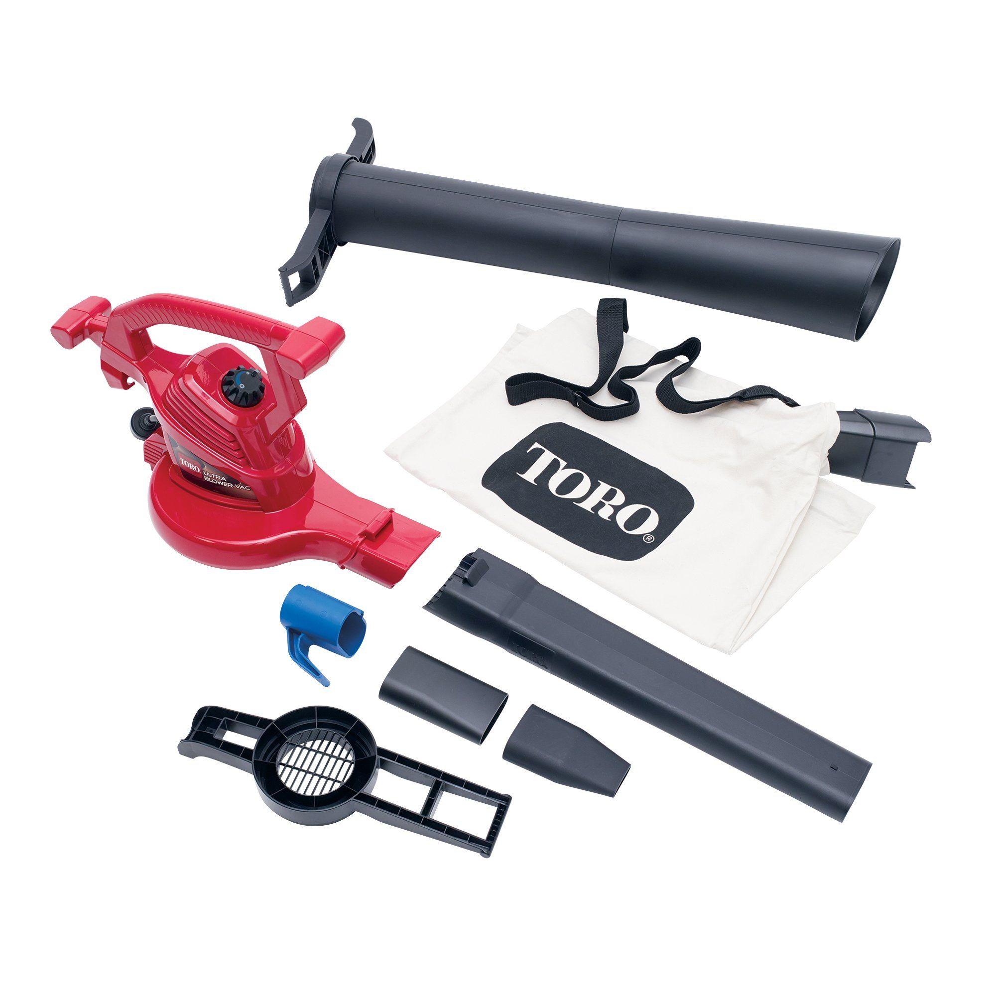 Toro 51619 Ultra Blower Vac Red Corded Read More Reviews Of The Product By Visiting The Link On The Image It Is An Electric Leaf Blowers Blowers Leaf Blower