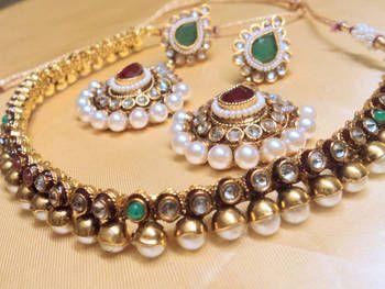 Pearl-Polki set...gorgeous...