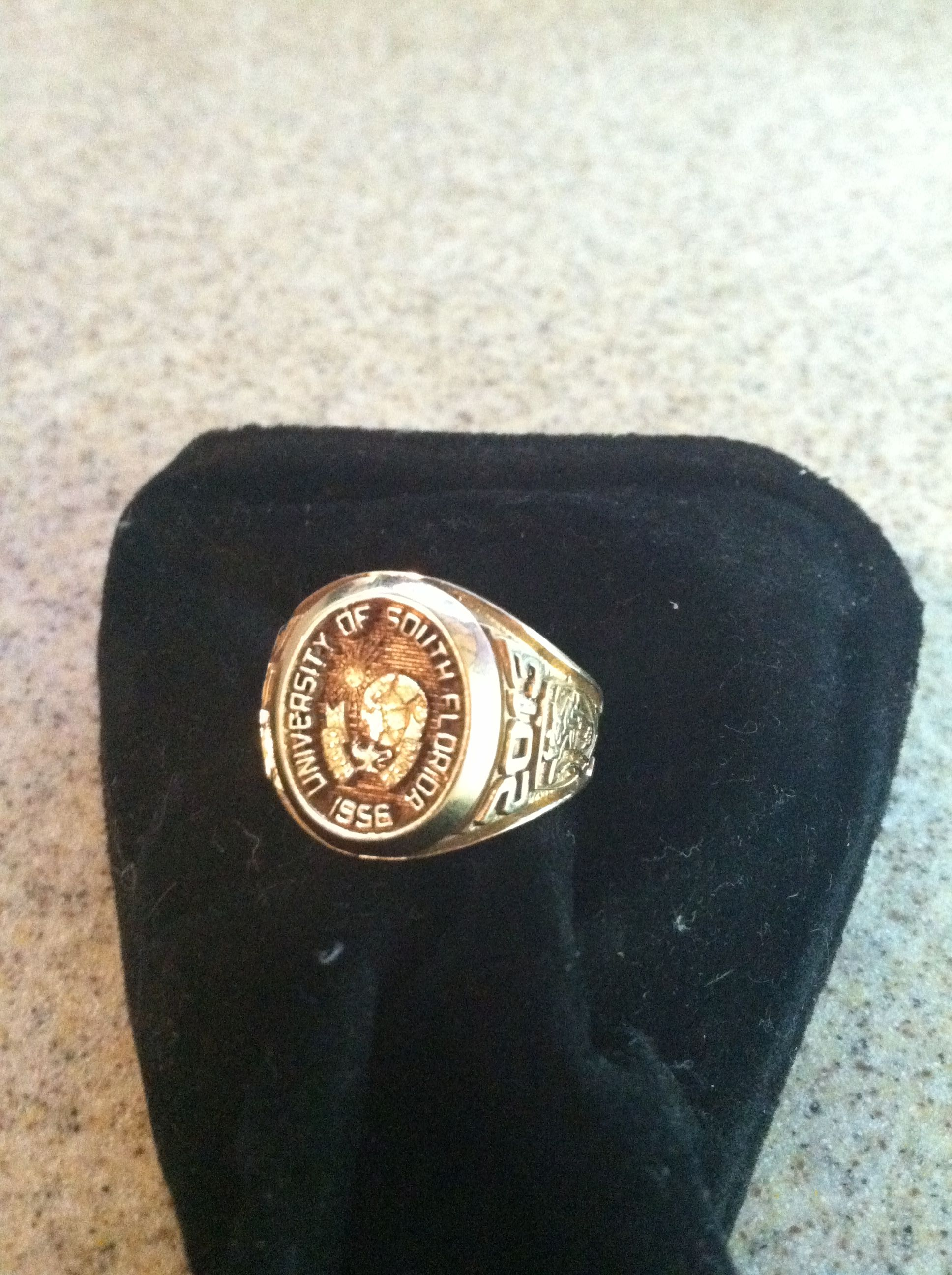My USF ring | USF! | Rings, Class ring, University of south