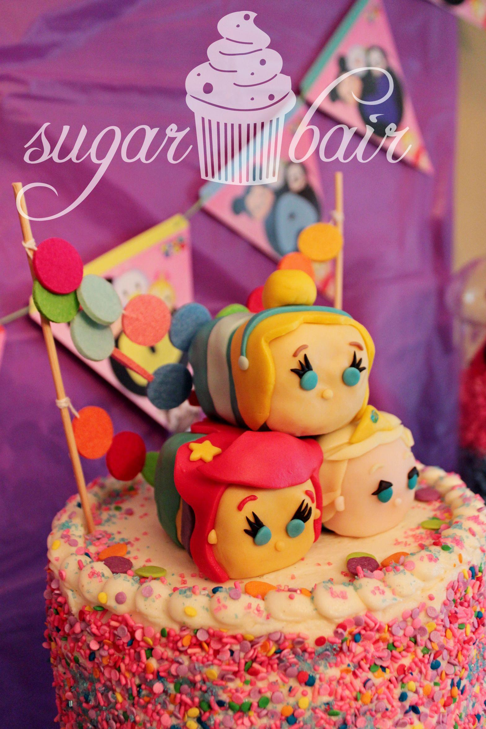 Disney Tsum Tsum Themed Fourth Birthday Tsum Tsum Birthday Cake