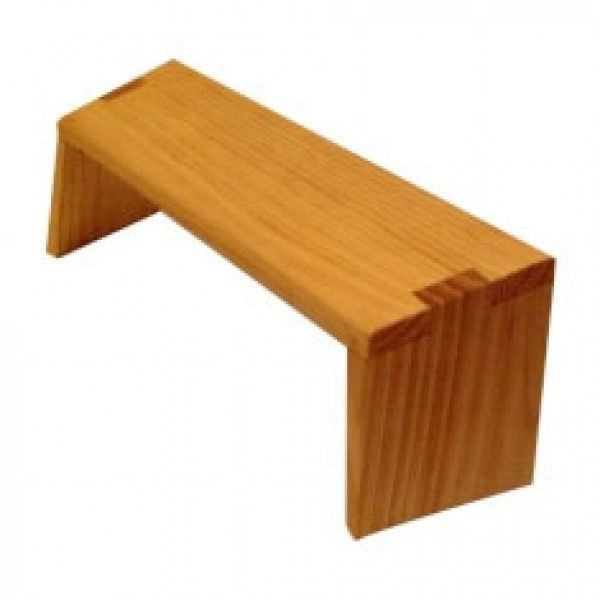Wooden Meditation Stool Folding Leg