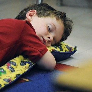 When we had naptime during school.