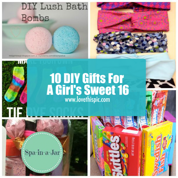 We Have Some Creative Sweet 16 Gift Ideas You Can Give Your Sister Daughter Niece And More