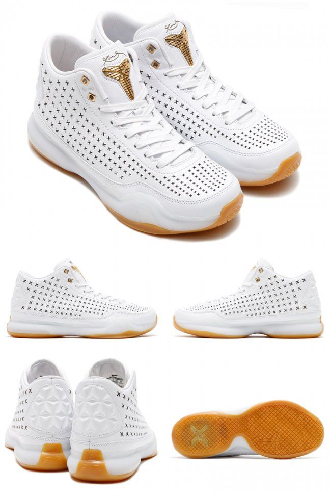 check out 46d19 4adff NIKE KOBE X MID EXT QS ELITE WHITE GUM LIGHT BROWN 802366 100  140