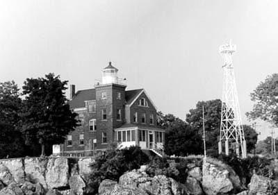 Is the South Bass Island Lighthouse haunted? Via Sandy Mitchell, Cleveland About.com