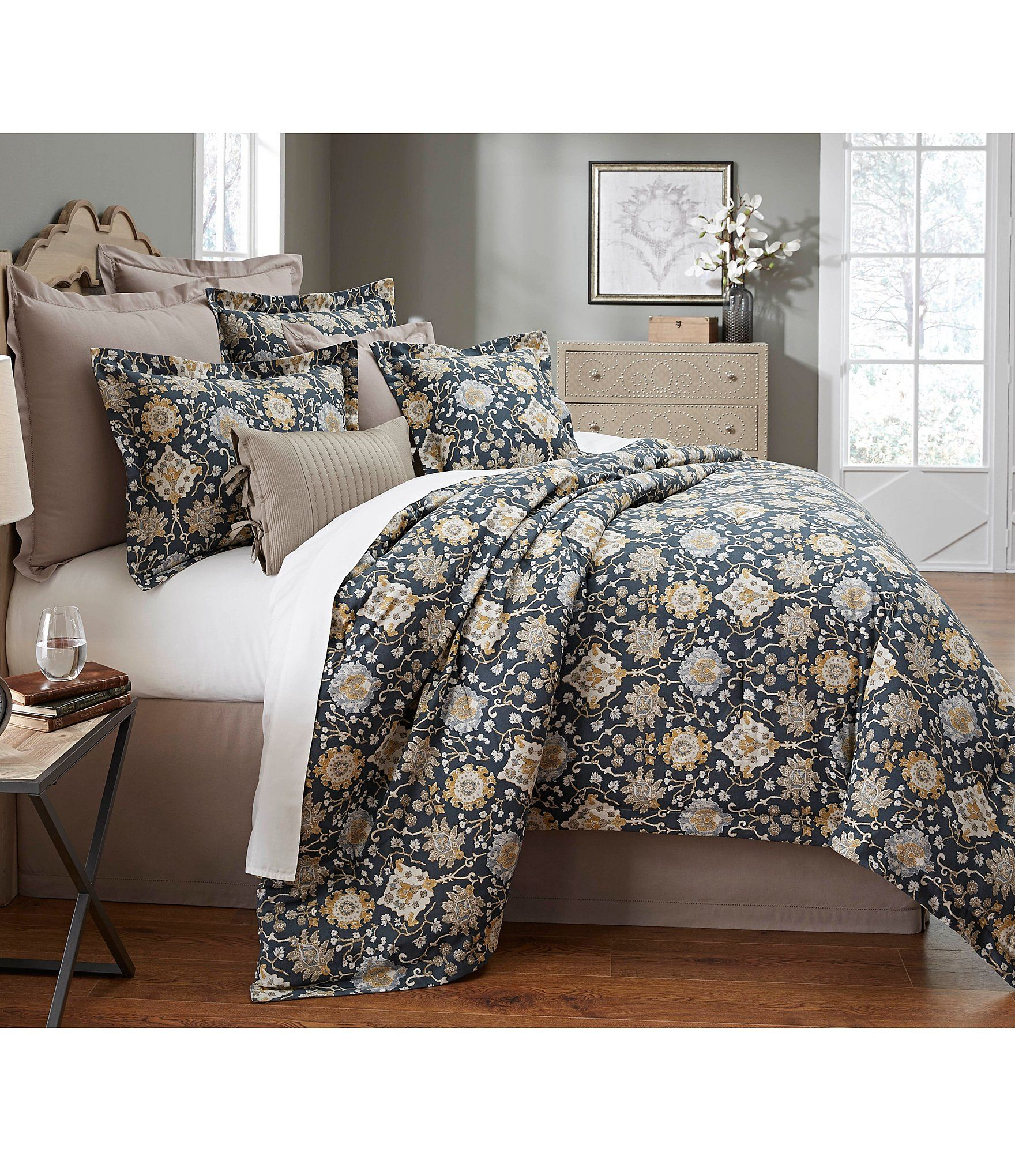 free bedding spice madison park robin today shipping pieces sateen product cotton comforter printed overstock bath set